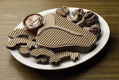 đồ ăn từ carton